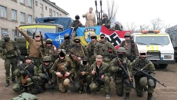 NAZI Ukrainian soldiers