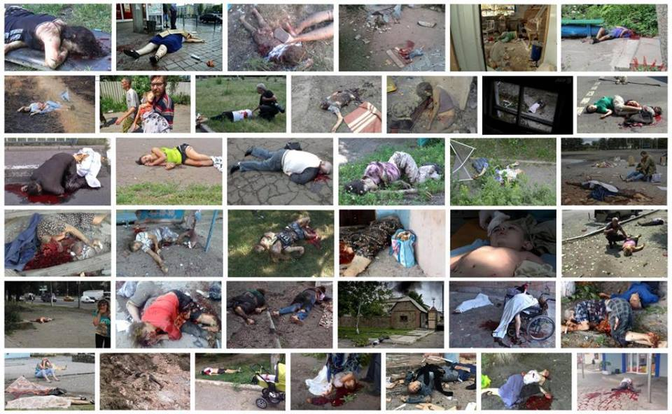 Kiev hunta war crimes in 2014