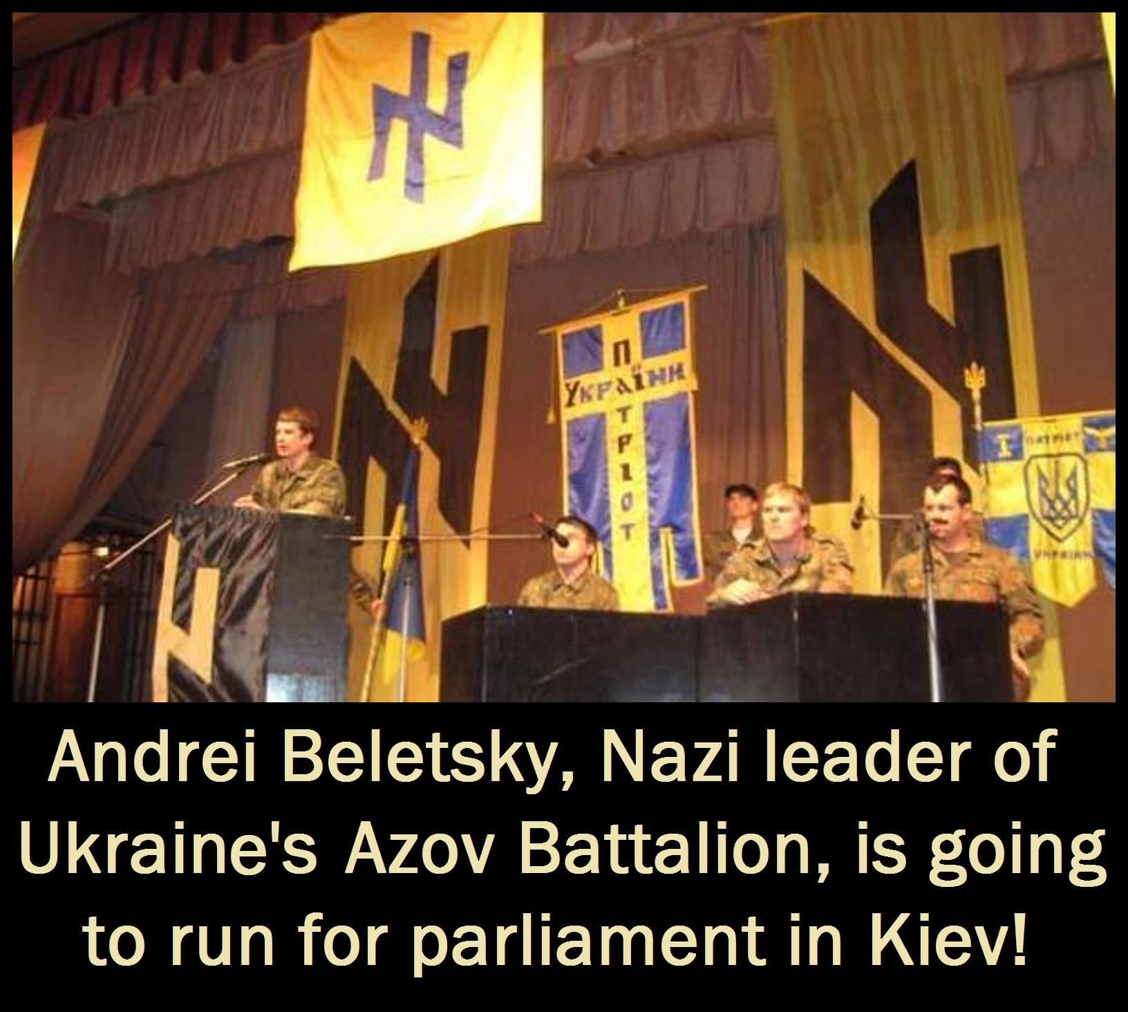 Nazi Azov UKR