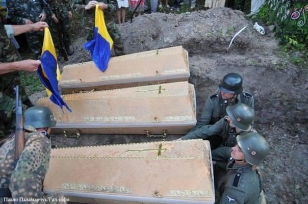 Nazi Ukraine soldiers 2014