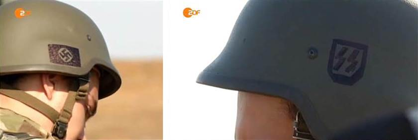 TV ZDF Ukraine Nazi soldiers