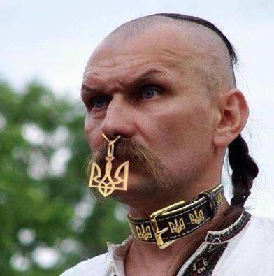 Ukrainian extra patriot