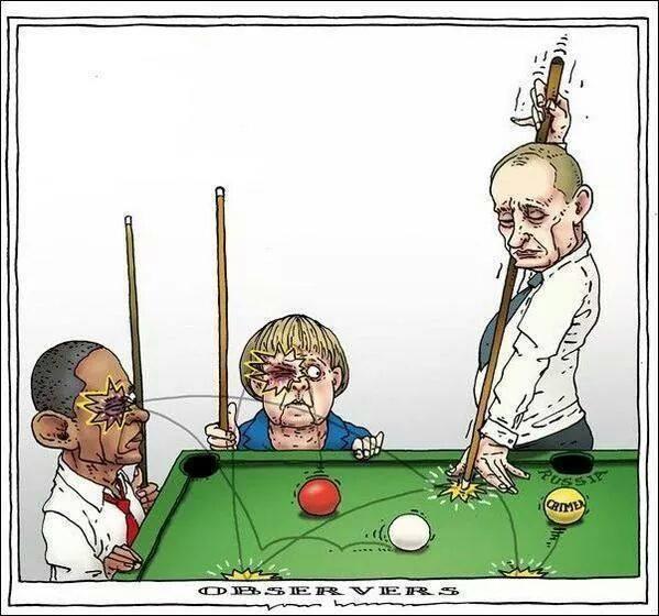 Путин Меркел Обама