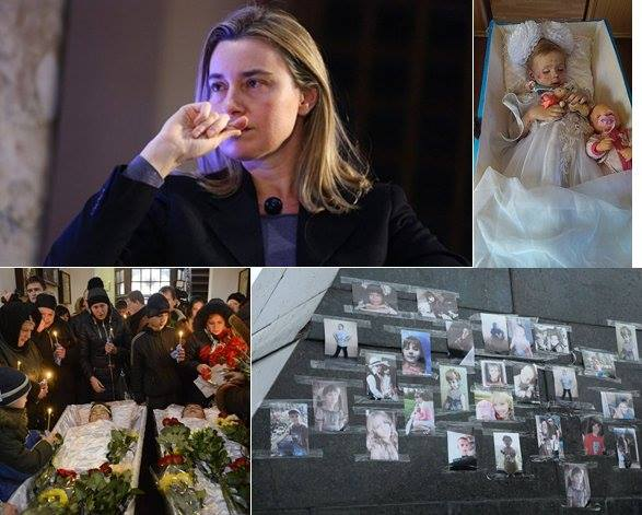 Donbass 50 000 killed 200 kids