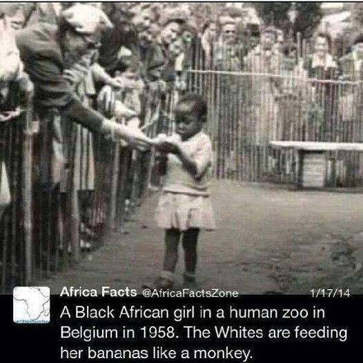 belgium-1958-a-girl-from-africa-in-zoo-with-bananas