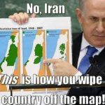 Netanyahu, Palestine and Ethnic Cleansing