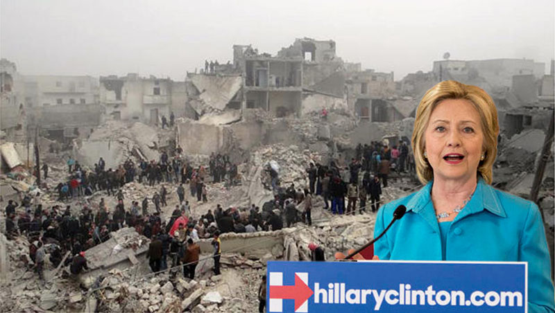 Countries Destroyed by Hillary Clinton