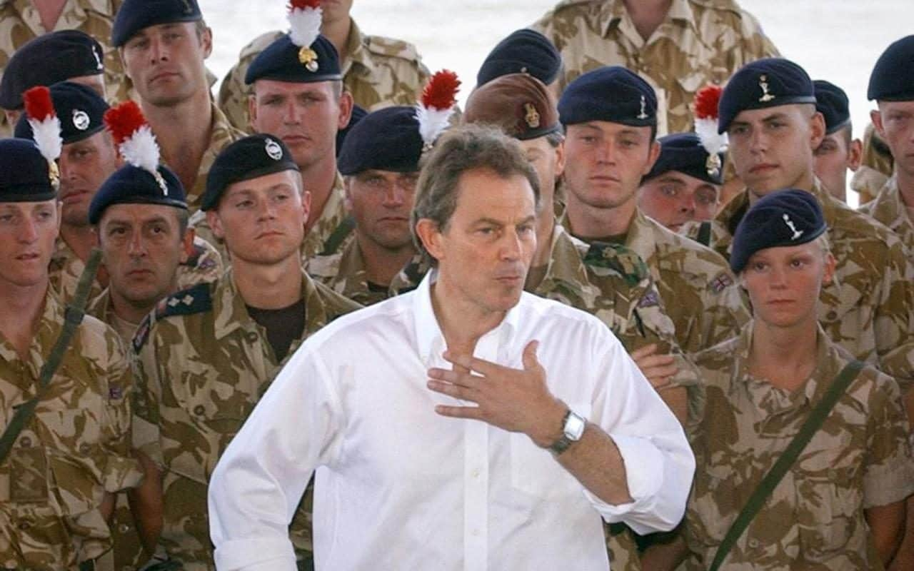 The Spirit of Christmas: War Criminals George W. Bush and Tony Blair Banned from the Birthplace of Jesus Christ