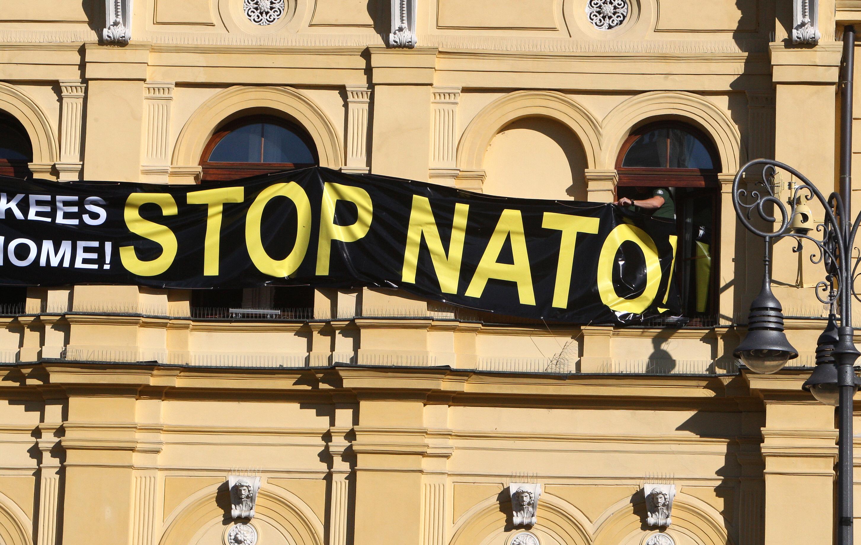 Why is NATO in Yugoslavia?