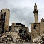 2791603 02/15/2016 Old Town destruction in Aleppo. This 12th-16th-century set of buildings was included into the UNESCO World Heritage list in 1986. Michael Alaeddin/Sputnik via AP