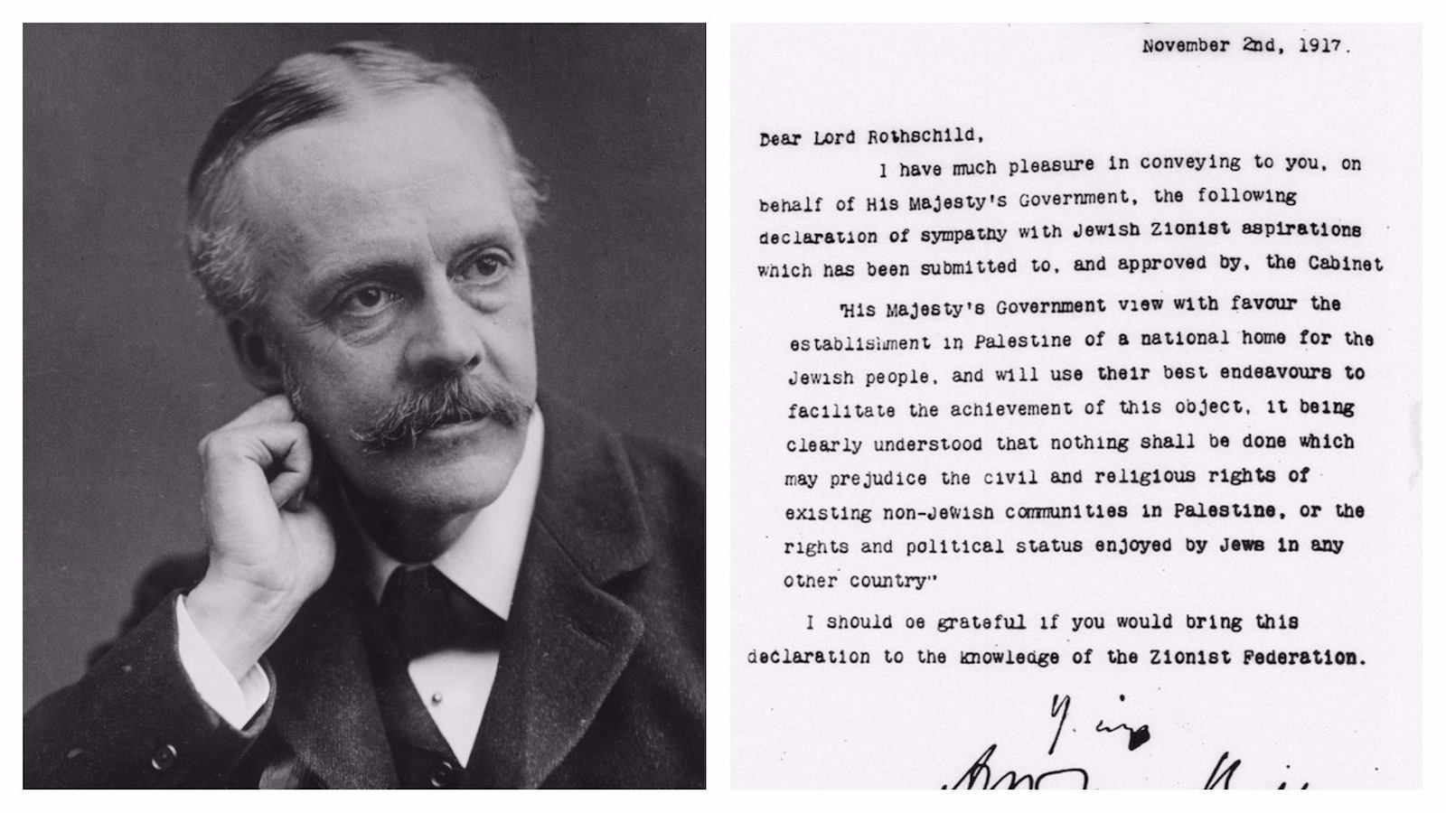 Behind The Balfour Declaration