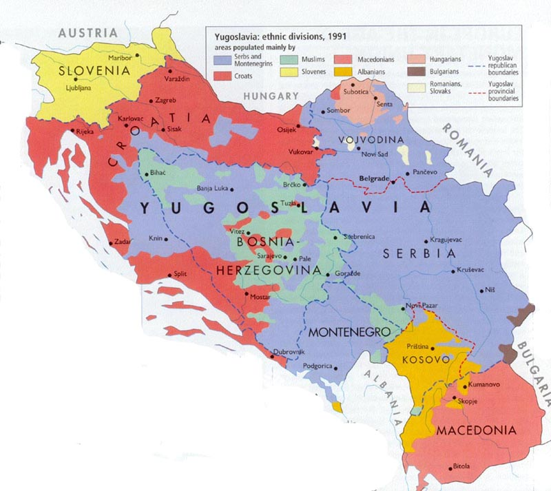 an overview of the war in bosnia between the serbian population Understanding yugoslavia — roughly along today's bosnian-serbian because the ustaše had decimated the serb population there during world war ii.