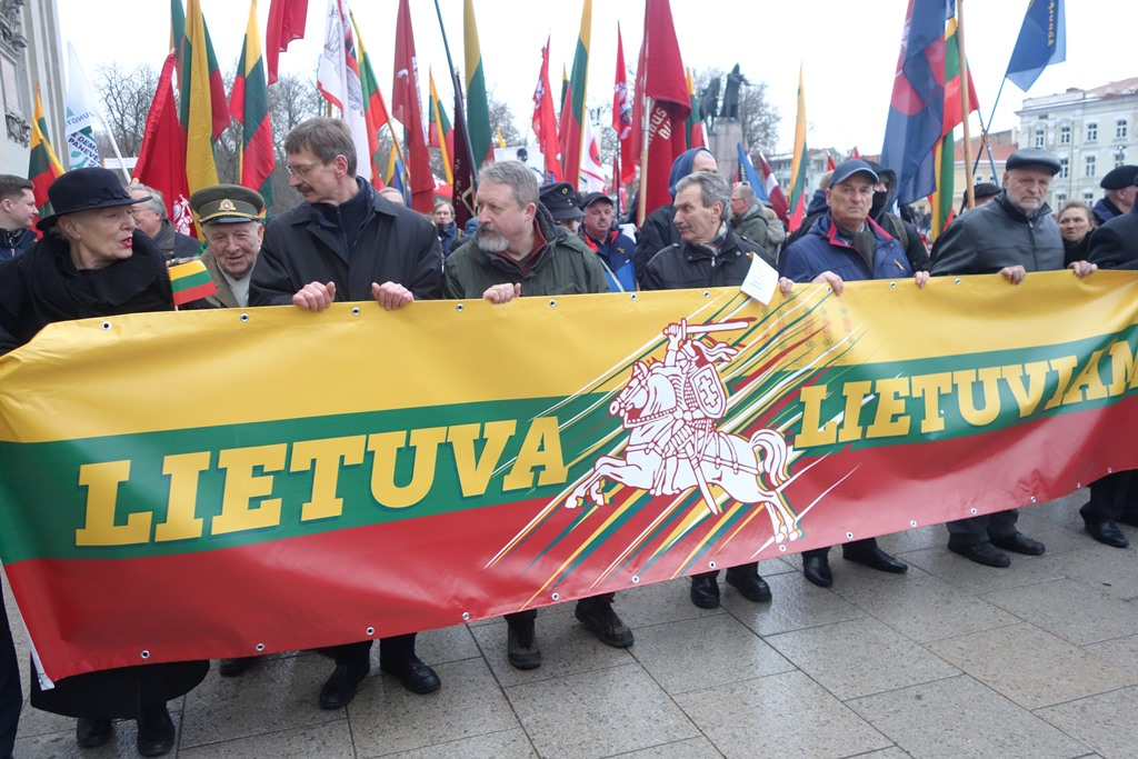 Neo-Nazi Marchers on Lithuania's Cherished March 11th Independence Day (Vilnius 2018)