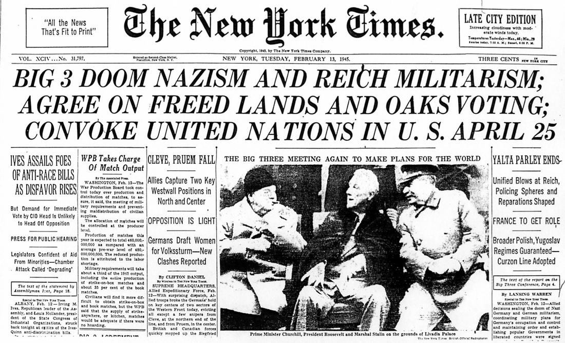 Yalta 1945 The Impact On Yugoslavia