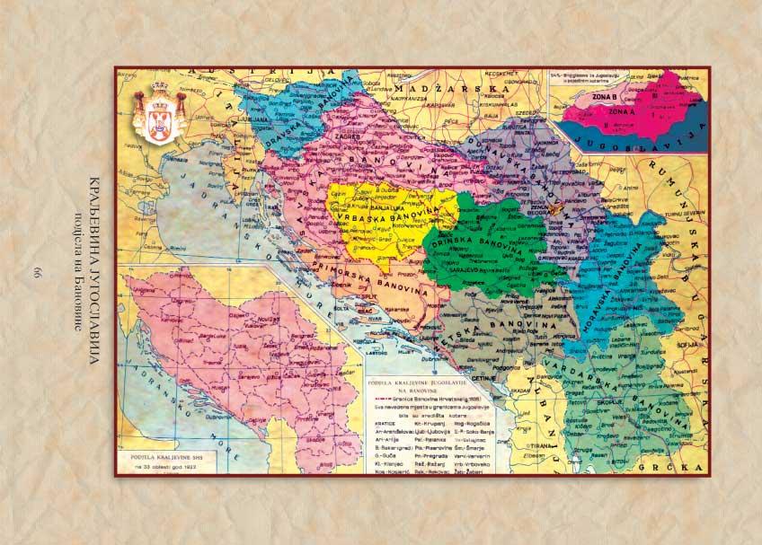 Karta Yugoslavia.A Short History Of An Interwar Yugoslavia 1918 1941