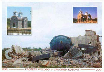 """Serbs Survive in Ghettos in the Heart of Europe: The """"Republic of Kosovo"""", a Criminal Entity"""