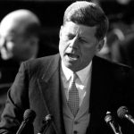 President John F. Kennedy delivered his inaugural address on Jan. 20, 1961.