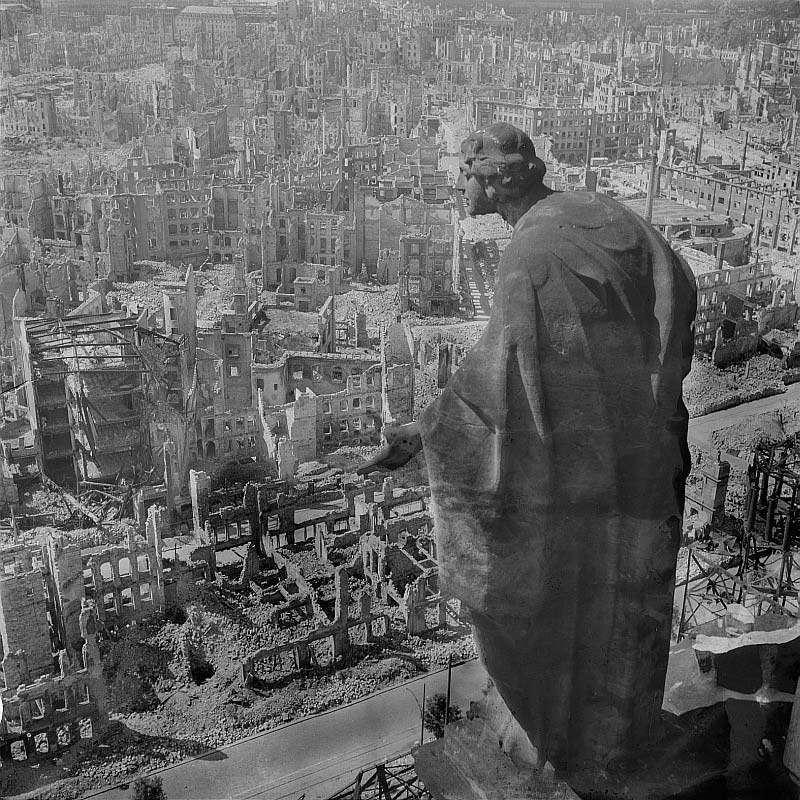 Dresden Terror Bombing, Like Hiroshima, a Maniacal Warning to Moscow