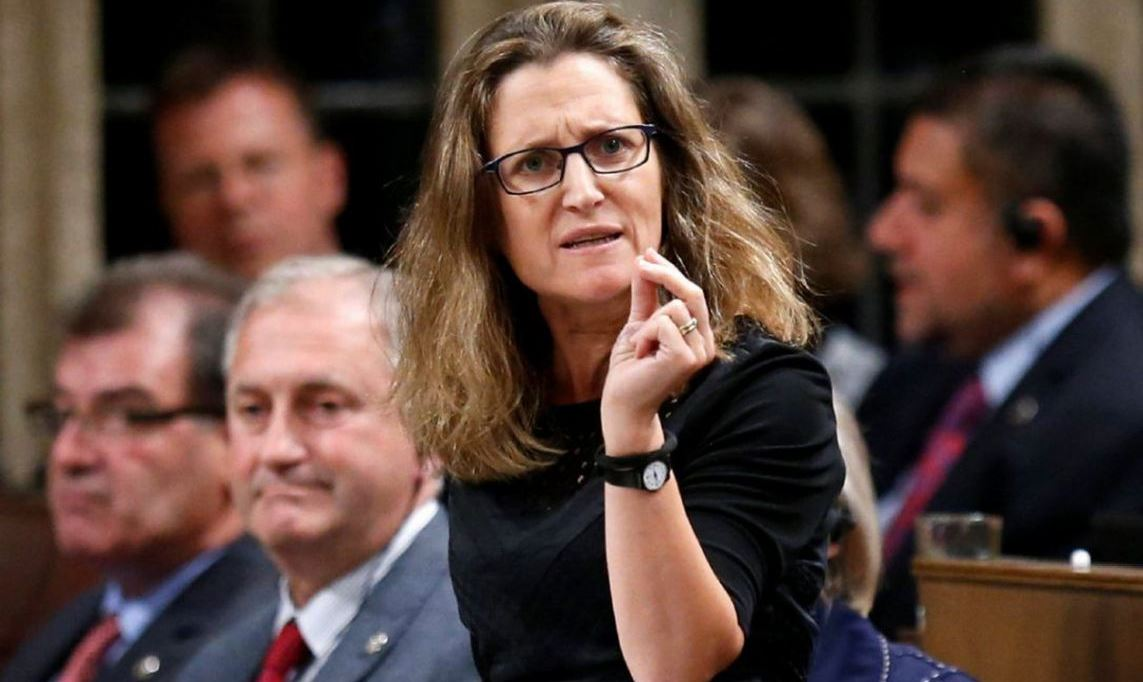 Canadian Foreign Minister is of Nazi Blood