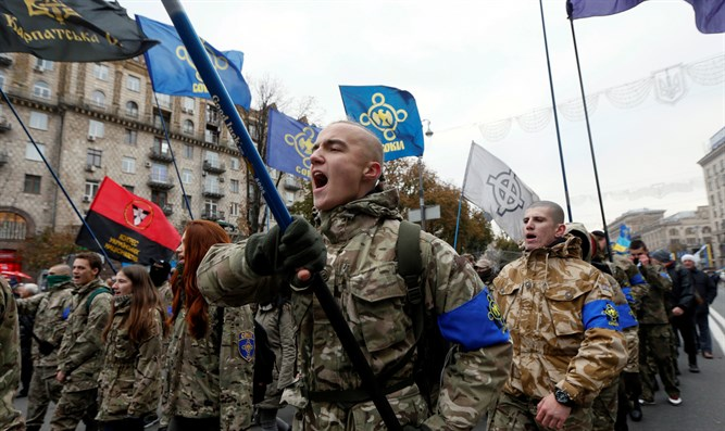 Nazi Collaborator Greeting Becomes Official Ukraine Army Salute