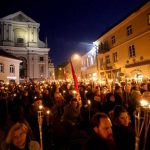 Nationalism Rising: A Torchlight March for Lithuania