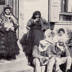 An Albanian family around 1910