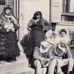 An Albanian family around 1910